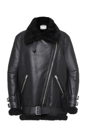 Oversized Two-Tone Double-Faced Cashmere Coat by Proenza Schouler | Moda Operandi