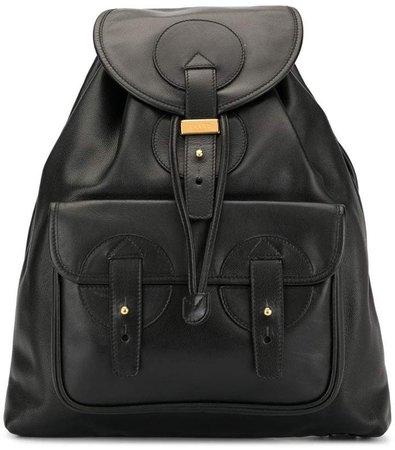 PRE-OWNED Logos Backpack bag