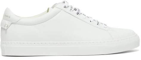 Urban Street Low-top Leather Trainers - Womens - White