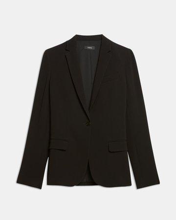 Staple Blazer in Crepe | Theory