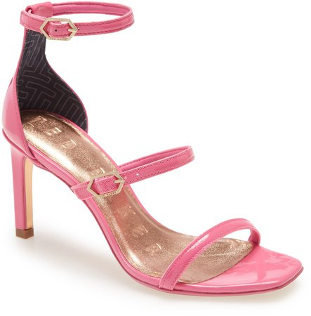 Triap Strappy Square Toe Sandal