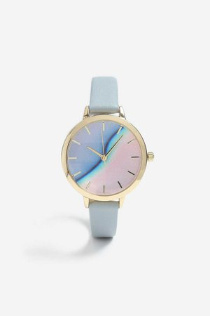**Pastel Wave Face Watch - Watches - Bags & Accessories - Topshop