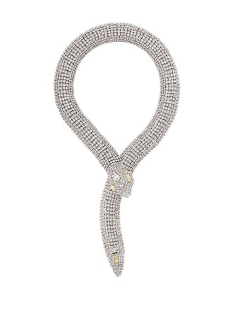 Alessandra Rich Serpent Necklace - Farfetch