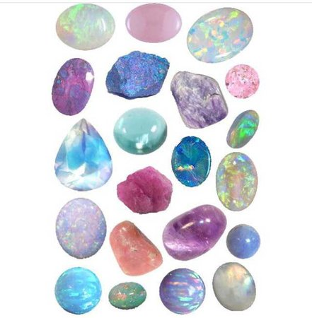 Assorted Gemstones - @png.rip PNG Collection