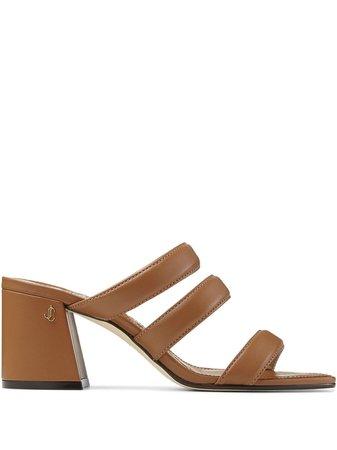 Jimmy Choo Auna 65mm Sandals - Farfetch