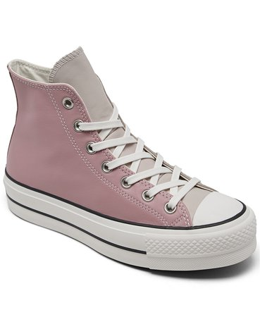 Converse Women's Chuck Taylor All Star Lift Platform High Top Casual Sneakers from Finish Line & Reviews - Finish Line Athletic Sneakers - Shoes - Macy's