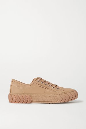 Sand Pop leather sneakers | both | NET-A-PORTER