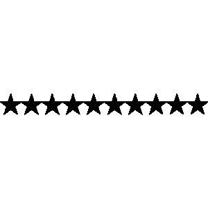 Star Line Clipart