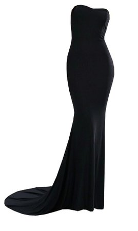 Dress Long Black