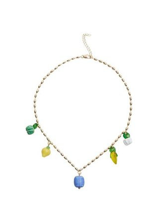 MANGO Mixed bead necklace