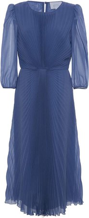 Luisa Beccaria Pleated Dress
