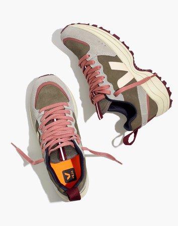 Veja Suede Venturi Sneakers in Oxford Grey