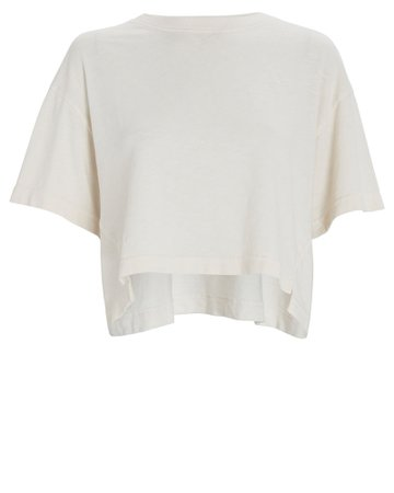 FRAME Boxy Cropped T-Shirt | INTERMIX®