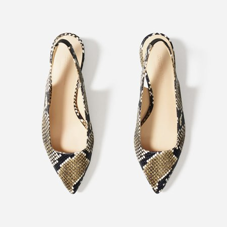 Women's Editor Slingback Heel | Everlane brown