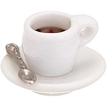 Amazon.com: Darice Timeless Miniatures-Cup Of Coffee