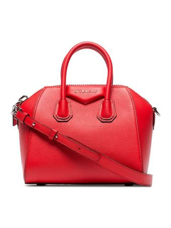 Givenchy Mini Antigona Tote Bag BB05114012 Red   Farfetch