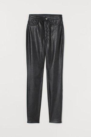 High Waist Pants - Black