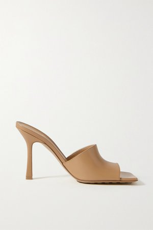 Sand Leather mules | Bottega Veneta | NET-A-PORTER