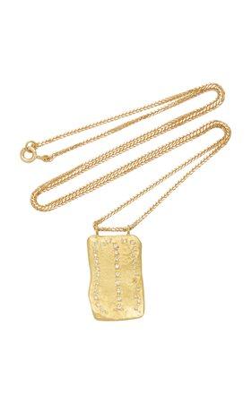 18K Gold And Diamond Necklace by Orit Elhanati | Moda Operandi