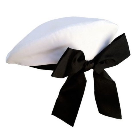 Beret With Bow