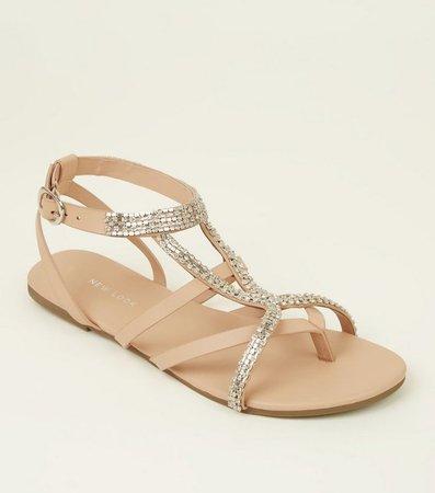 camel sandal (crystals)
