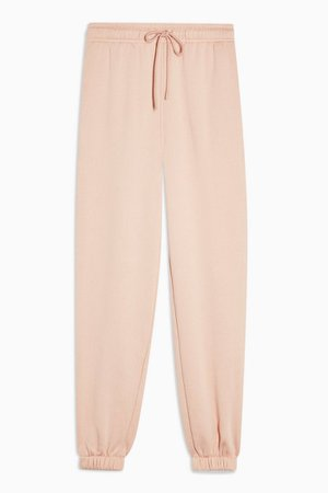 Pale Pink 90's Oversized Sweatpant | Topshop