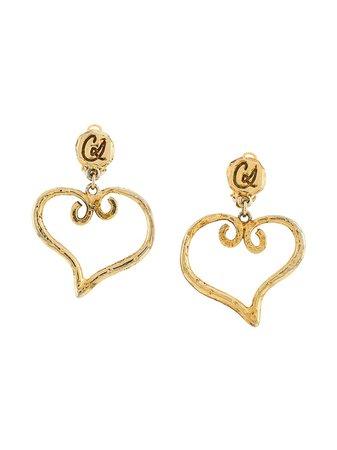 Christian Lacroix Heart-Shaped Earrings