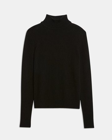 Basic Turtleneck Sweater in Feather Cashmere | Theory