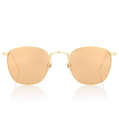 Round Sunglasses | Linda Farrow - mytheresa.com