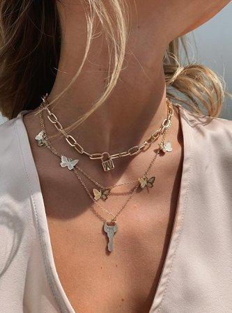 Aitch Necklace Set