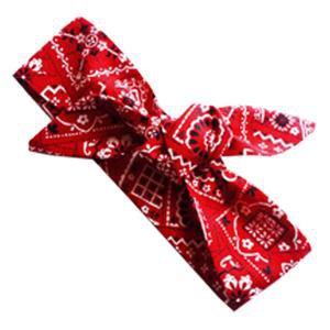 Red Bandana Hair Wrap – Grace & Co 2016