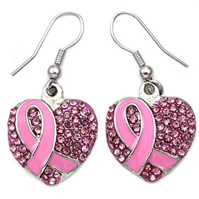 breast cancer pink ribbon jewelry - Google Search