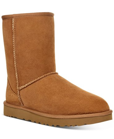 UGG® Women's Classic II Short Boots & Reviews - Boots - Shoes - Macy's brown
