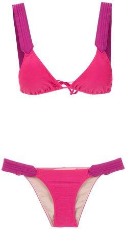 plain bikini set