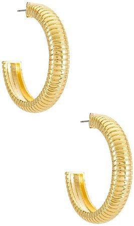 Uncommon James Fine Line Hoops Earrings