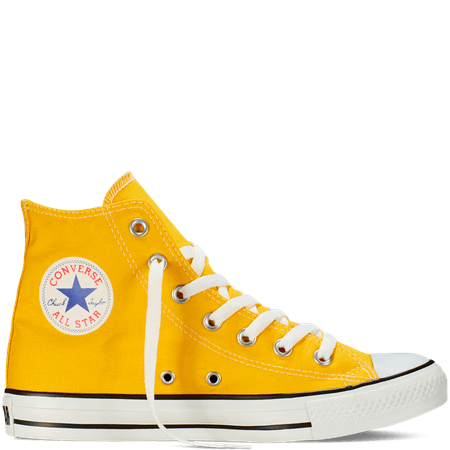 Converse Mens Shoes | Chuck Taylor All Star Fresh Colors | Yellow Converse