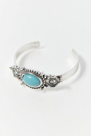 Wild West Turquoise Cuff Bracelet | Urban Outfitters