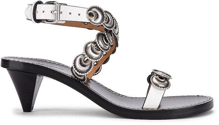 Jieva Sandal in White | FWRD