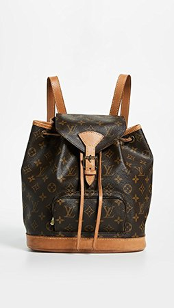 What Goes Around Comes Around Louis Vuitton Monogram Montsouris Backpack | SHOPBOP