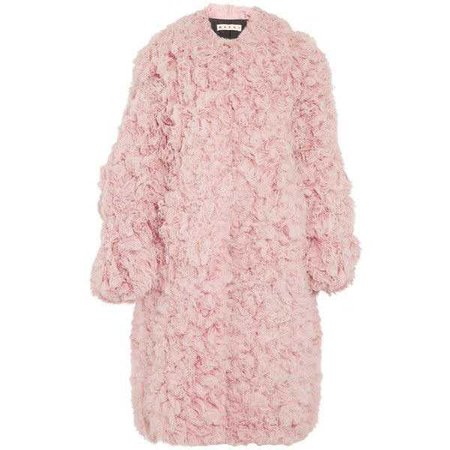 Marni Oversized Shearling Coat