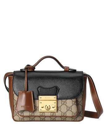 Shop Gucci mini Padlock bag with Express Delivery - FARFETCH