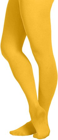 EMEM Apparel Women's Ladies Solid Colored Opaque Dance Ballet Costume Microfiber Footed Tights Stockings Fashion Grey C at Amazon Women's Clothing store