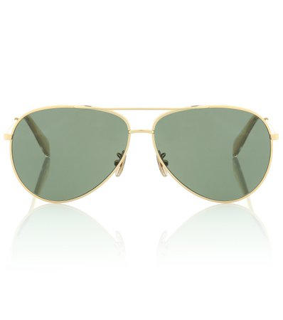 Aviator Sunglasses With Leather Pouch - Celine Eyewear | Mytheresa