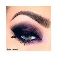 Purple Eyshadow