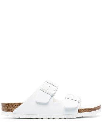 Birkenstock Arizona slip-on sandals white 1019046 - Farfetch