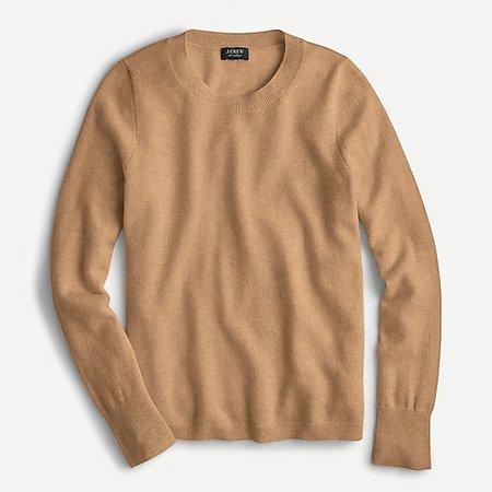 J.Crew: Cashmere Crewneck Sweater For Women