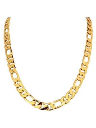 gold chain rope necklace
