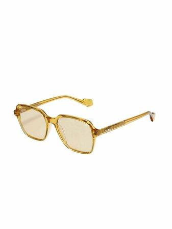 Gentle Monster Mantu Square Frame Sunglasses - Farfetch