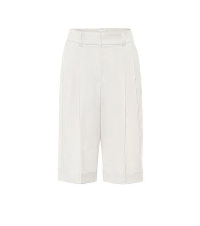 Brunello Cucinelli, Virgin Wool Bermuda Shorts
