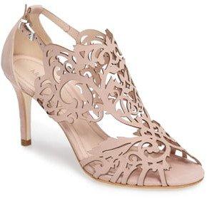 Marcela 3 Laser Cutout Sandal